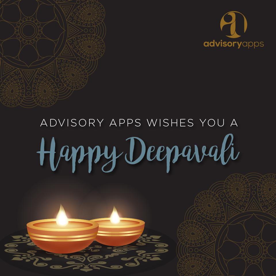 Happy Deepavali from Advisory Apps Sdn Bhd